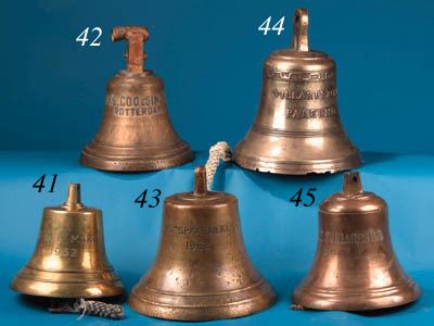 A bronze ship's bell
