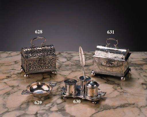 A fine Dutch silver marriage c