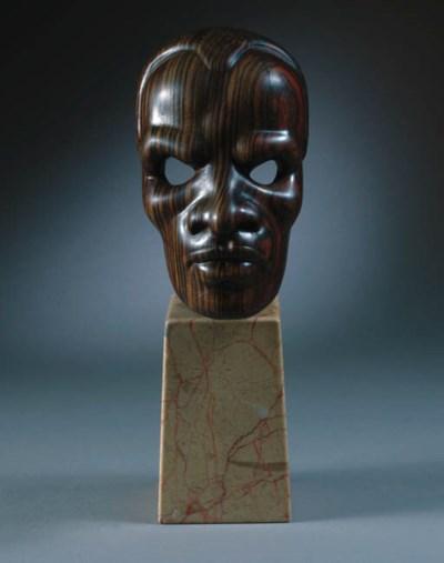 A coromandel portrait mask