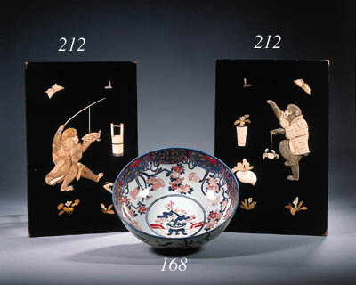 A large Imari bowl