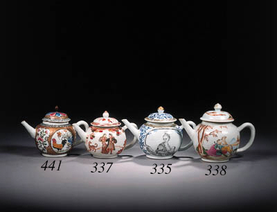 An enamelled 'European Subject