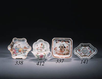 A famille rose miniature part