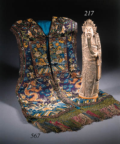 A Xiape and a silk stole
