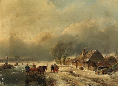 Andreas Schelfhout (1787-1870)