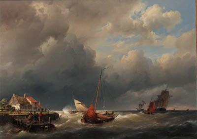 Hermanus Koekkoek Sen.(1815-18