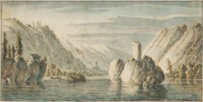 F. Berg (active 1771)
