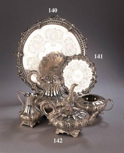 An English silver salver