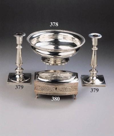 A Dutch silver slob-bowl