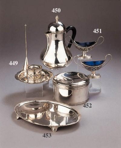 A Norwegian silver serving spo
