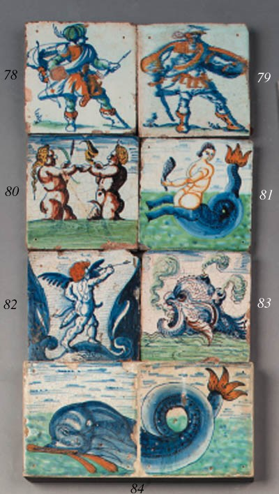 a rotterdam tile with a nude c