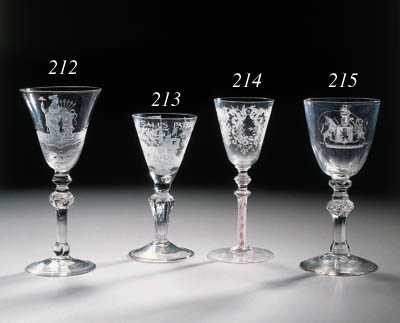 a dutch-engraved wine-glass