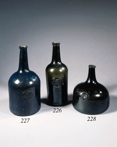 a sealed and dated wine bottle