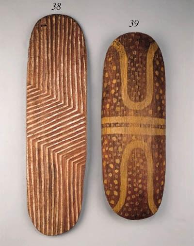 an australian aborigine shield