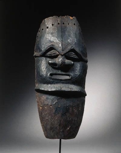 a fine new caledonia mask