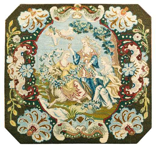 A FRENCH NEEDLEWORK PICTURE