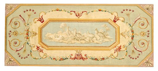 A BEAUVAIS DECORATIVE TAPESTRY