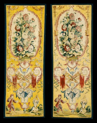A PAIR OF LOUIS XIV GOBELINS G