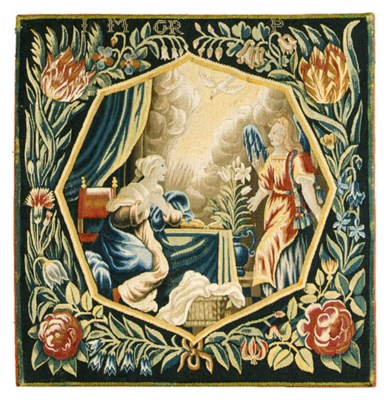 A FLEMISH BIBILICAL TAPESTRY P