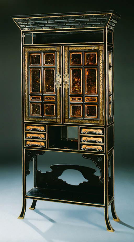 An English giltmetal mounted,