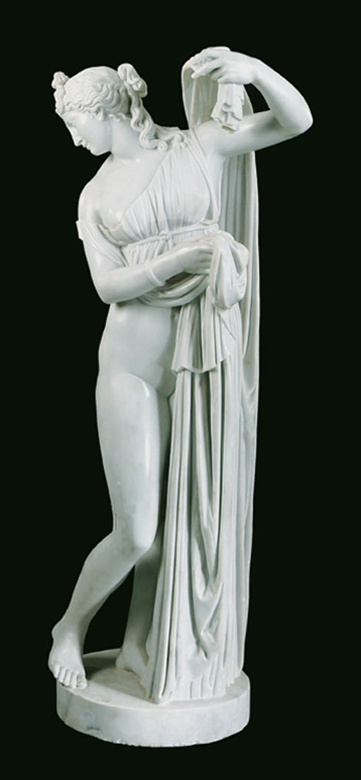 A marble figure of the Callipy