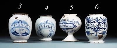 A London delft blue and white