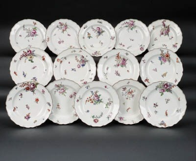 Fourteen Chelsea plates