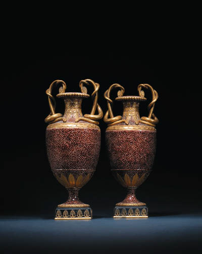 A pair of Wedgwood creamware s