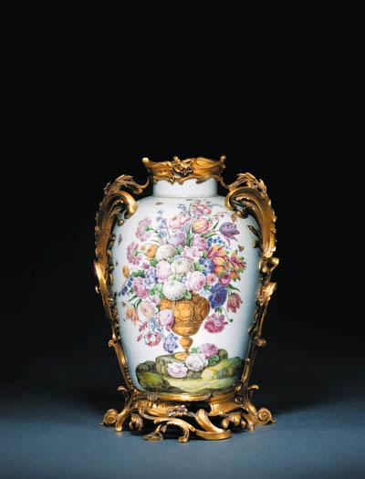 A Capodimonte (Carlo III) ormo