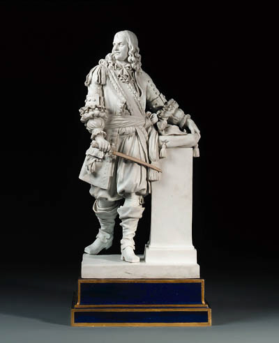 A Sevres biscuit figure of Mar