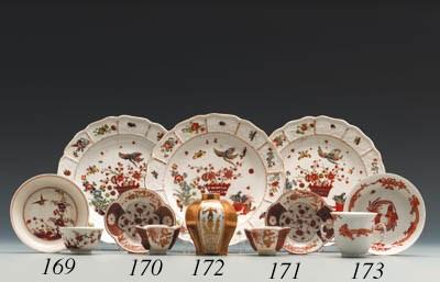 A Meissen Famille Verte teabow