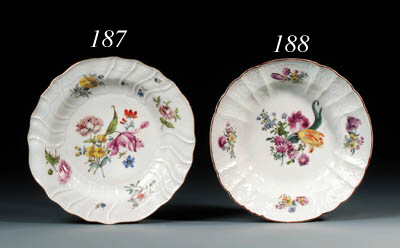 A Meissen dulong pattern part