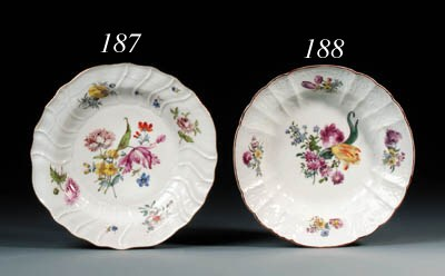 A Meissen dulong pattern part