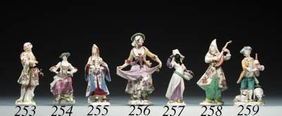 A Meissen figure of Turkish La