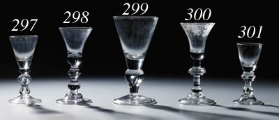 A baluster wine-glass