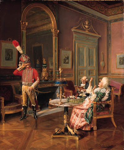 Franois Brunery (French, b. 18