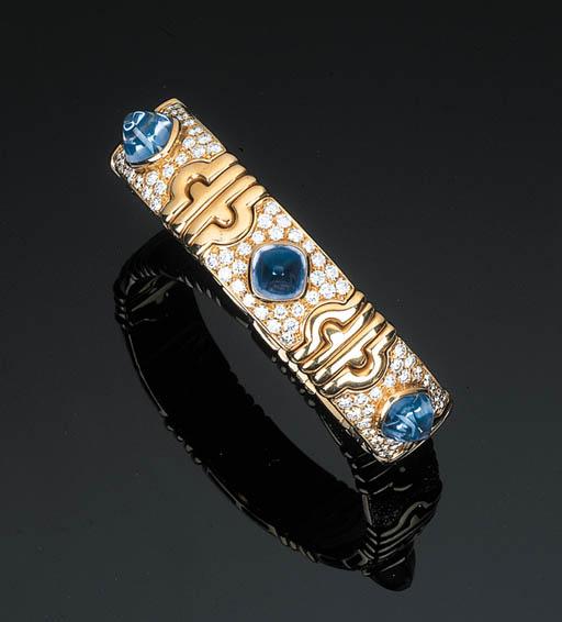 A Sapphire and Diamond