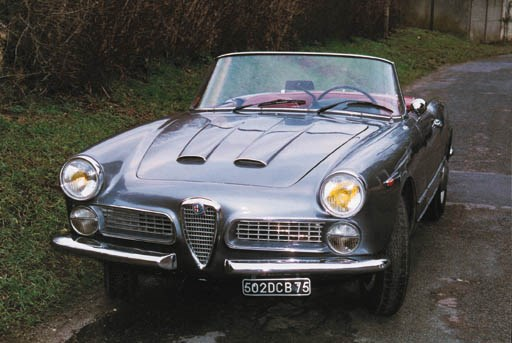 1961 ALFA ROMEO 2000S SPYDER