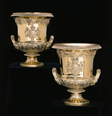 A Pair of George III Royal sil