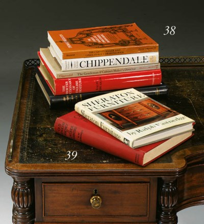 A GROUP OF FIVE FURNITURE BOOK