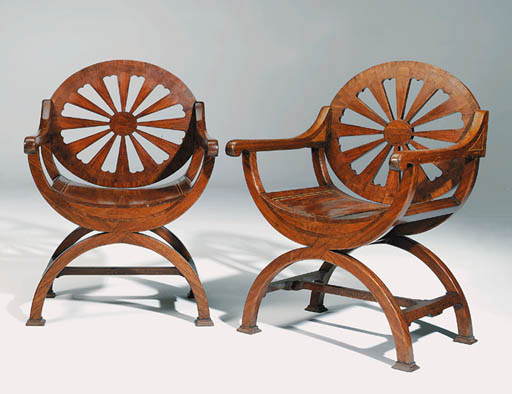 A PAIR OF GEORGE III PADOUK AN
