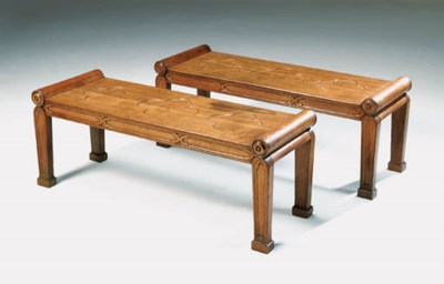 A PAIR OF GEORGE IV GOTHIC OAK
