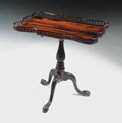 AN ANGLO-INDIAN ROSEWOOD AND C