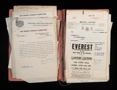 1924 EVEREST EXPEDITION - NOEL