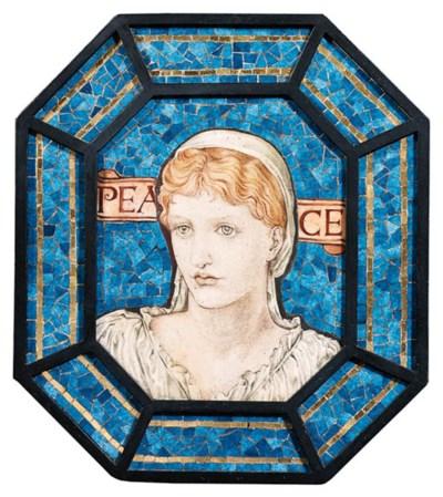 'Peace', A Mosaic Plaque