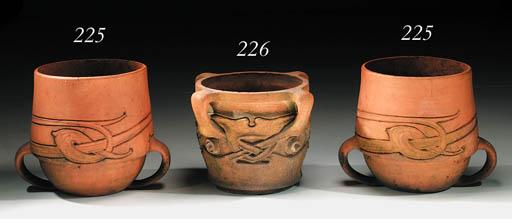 Two Terracotta Garden Urns