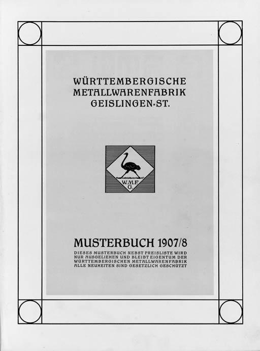 'WMF Musterbuch', a Catalogue