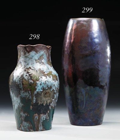 A high fired stoneware vase