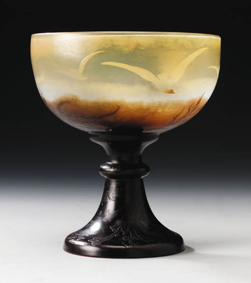 A Cameo Glass Coupe