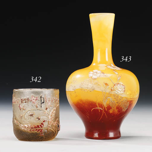 A Fire-Polished and Enamelled