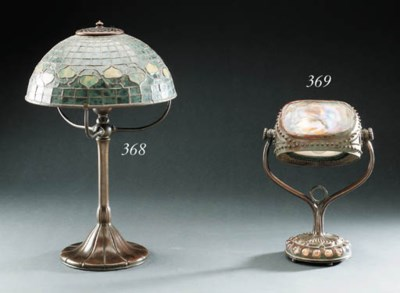 A Tiffany Table Lamp